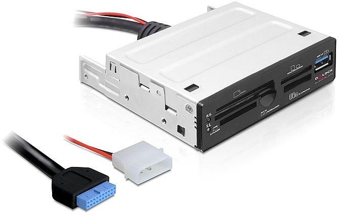 DeLOCK 63in1 Cardreader, USB 3.0 (91725)