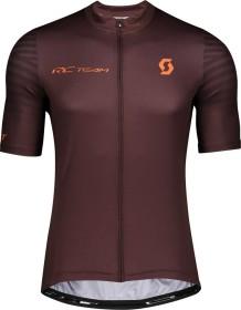 Scott RC Team 10 Trikot kurzarm maroon red/orange pumpkin (Herren) (275280-6436)