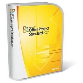 Microsoft Project 2007 Standard (English) (PC) (076-03745)