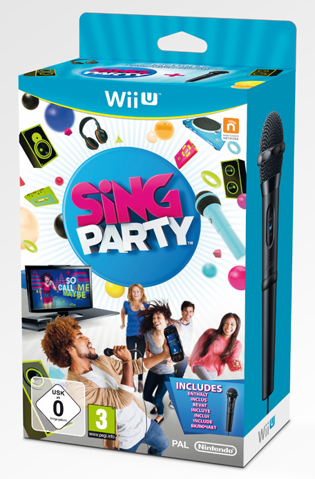 Sing Party microphone included (German) (WiiU)