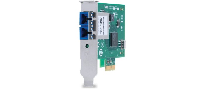 Allied Telesis AT-2711FX/ST, 1x 100Base-FX, PCIe x1