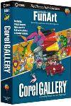 Corel: Gallery FunArt 1.0 (English) (PC)