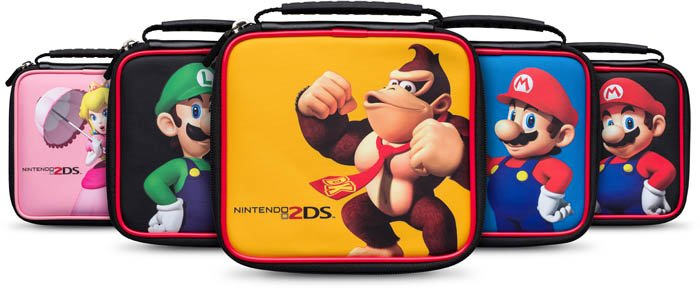 Bigben 2ds215 mario bros tasche f r nintendo 2ds div for Housse 2ds mario