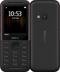 Nokia 5310 XpressMusic (2020) Dual-SIM schwarz/rot
