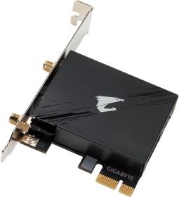 GIGABYTE GC-WBAX210, 2.4GHz/5GHz/6GHz WLAN, Bluetooth 5.2 LE, PCIe x1