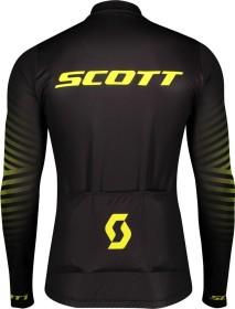 Scott RC Team 10 Trikot langarm black/sulphur yellow (Herren) (275281-5024)