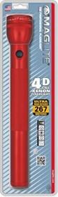 MAG-LITE Maglite 4D Xenon torch red