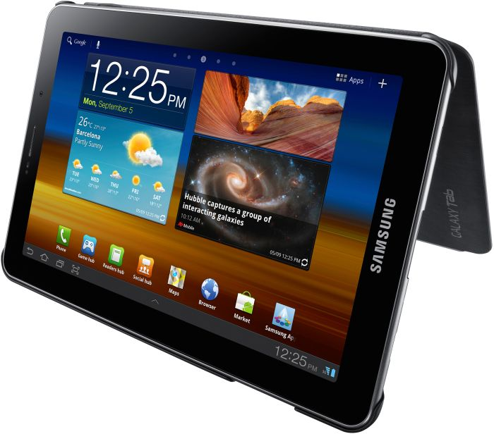 Samsung Galaxy Tab 7.7 Book sleeve black (EFC-1E3NBE)