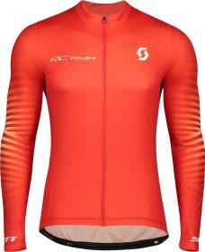 Scott RC Team 10 Trikot langarm fiery red/white (Herren) (275281-5102)