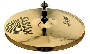 "Sabian AAX Medium-Thin top/Medium Bottom Studio Hi-Hats 13"" (SA21301XB)"