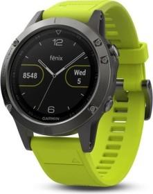 Garmin Fenix 5 grau/gelb (010-01688-02)