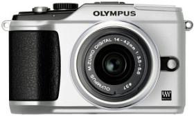 Olympus PEN E-PL2 silber mit Objektiv M.Zuiko digital ED 14-150mm (N4288992)