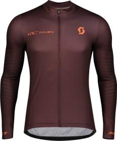 Scott RC Team 10 Trikot langarm maroon red/orange pumpkin (Herren) (275281-6436)