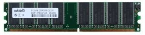 takeMS DIMM 256MB, DDR-333, CL2.5