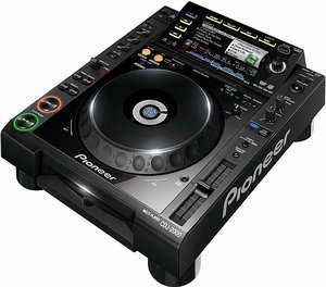 Pioneer CDJ-2000 black CD turntable (CDJ-2000-K)