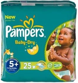 Pampers Baby-Dry Gr.5+ Einwegwindel, 13-27kg, 25 Stück
