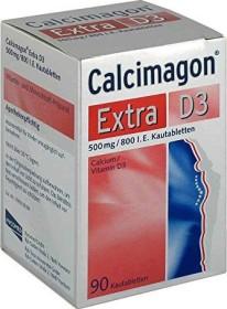 Calcimagon Extra D3 Kautabletten, 90 Stück