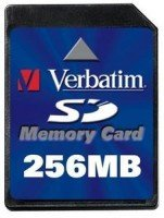 Verbatim SD Card  256MB (47119)