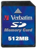 Verbatim SD Card  512MB (47170)
