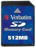 Verbatim SD Card 512MB (47170)