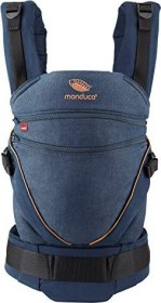 Manduca XT Cotton Babytrage denimblue-toffee