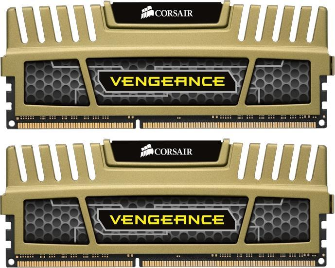 Corsair Vengeance green DIMM kit 8GB PC3-12800U CL9-9-9-24 (DDR3-1600) (CMZ8GX3M2A1600C9G)