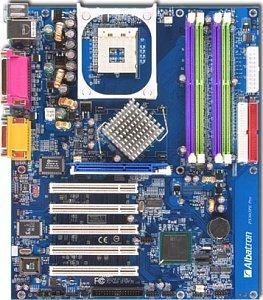 Albatron PX865PE Pro, i865PE (dual PC-3200 DDR)