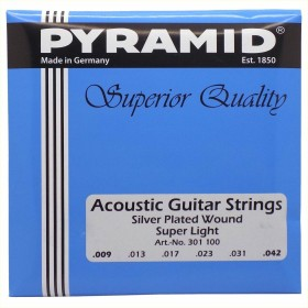 Pyramid Acoustic Silver plated superior Quality Super Light (301 100)