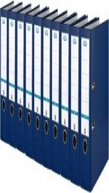 Elba smart pro Ordner A4, 8cm, blau (100025933)