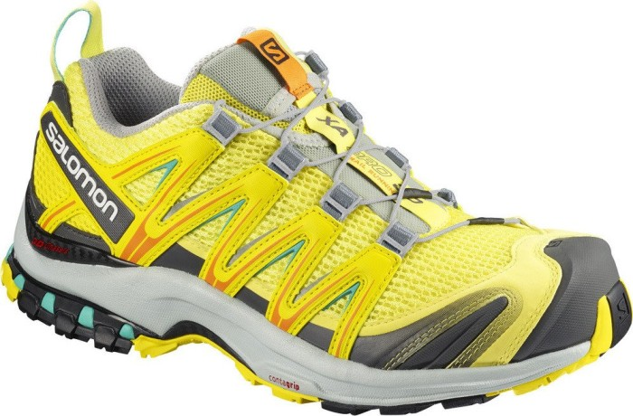 Salomon Damen Xa Pro 3D W Traillaufschuhe, Grün (Limelight/Blazing Yellow/Atlantis 000), 40 EU