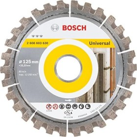 Bosch Best for Universal Diamanttrennscheibe 125x2.2mm, 1er-Pack (2608603630)