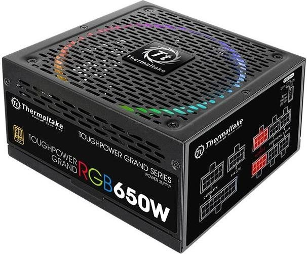 Thermaltake ToughPower Grand RGB Gold Sync Edition 650W ATX 2.4 (PS-TPG-0650FPCGEU-S)