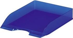 Durable Basic Briefablage A4, blau transluzent (1701673540)
