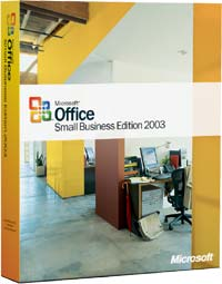 Microsoft: Office 2003 Small Business Edition (SBE) non-OSB/DSP/SB, sztuk 1 (niemiecki) (PC) (W87-00223)