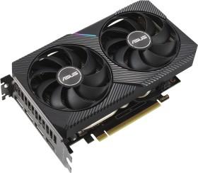 Bild ASUS Dual GeForce RTX 3060 Ti V2 Mini OC (LHR), DUAL-RTX3060TI-O8G-MINI-V2, 8GB GDDR6, HDMI, 3x DP (90YV0FT2-M0NA00)