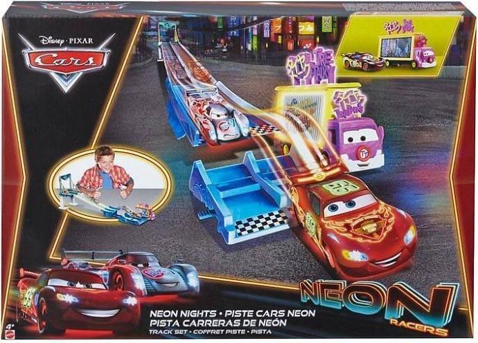 Mattel Cbn06 Disney Cars Neon Racers Trackset Neu Sonstiges Spielzeug