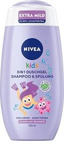Nivea Kids 3in1 Duschgel, Shampoo & Spülung Beerenduft, 250ml
