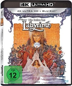 Die Reise ins Labyrinth (Special Editions) 4K Ultra HD)
