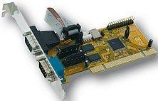 Exsys EX-43092, 2x seriell, PCI