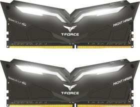 TeamGroup T-Force Night Hawk white DIMM kit 32GB, DDR4-3000, CL16-18-18-38 (THWD432G3000HC16CDC01)