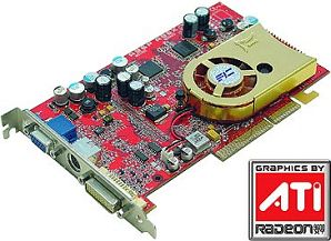 FIC A96X, Radeon 9600 XT, 128MB DDR, DVI, TV-out, AGP