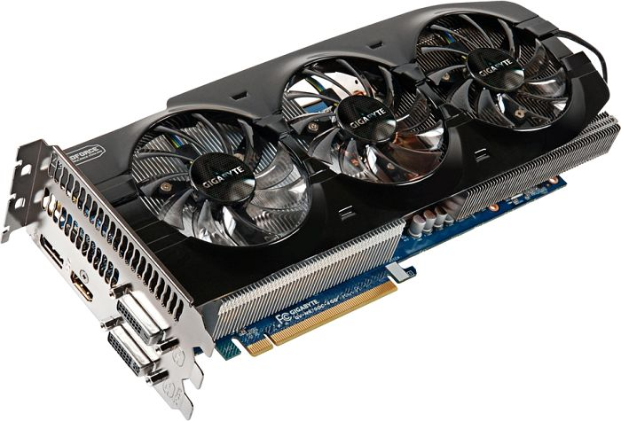 Gigabyte GeForce GTX 670 OC, 4GB GDDR5, 2x DVI, HDMI, DisplayPort (GV-N670OC-4GD)
