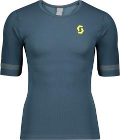 Scott Endurance Knit Trikot kurzarm nightfall blue/lemongrass yellow (Herren) (275284-6438)