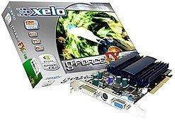 Xelo GeForceFX 5500XT, GeForceFX 5200, 256MB DDR, VGA, DVI, TV-out, AGP