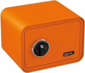 Olympia GOsafe 100 Tresor mit Fingerprintreader, orange (7013)