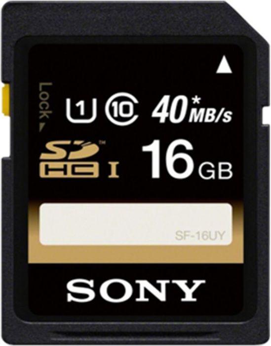 Sony SF-U Series SDHC 16GB, UHS-I, Class 10 (SF16U)