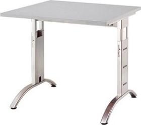 Hammerbacher Ergonomic Plus F-Serie FS08/5, grau, Schreibtisch