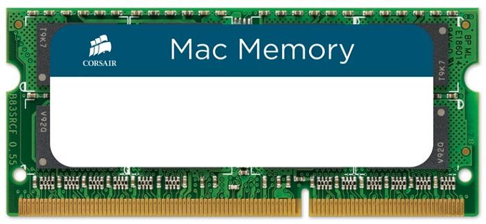 Corsair Mac Memory SO-DIMM 4GB PC3-10667S CL9 (DDR3-1333) (CMSA4GX3M1A1333C9)