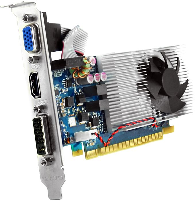 Sparkle GeForce GT 640 OC LP silver, 2GB DDR3, VGA, DVI, HDMI, low profile (SX640LS2048LC/SX640L2048LC)