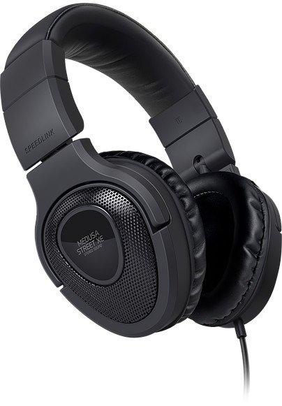 Speedlink MEDUSA STREET XE Stereo Headset schwarz (SL-870000-BK)